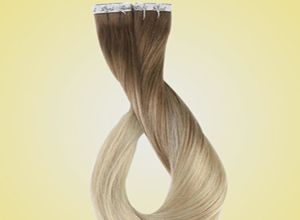 Blonde U Tip hair extension exporters in India